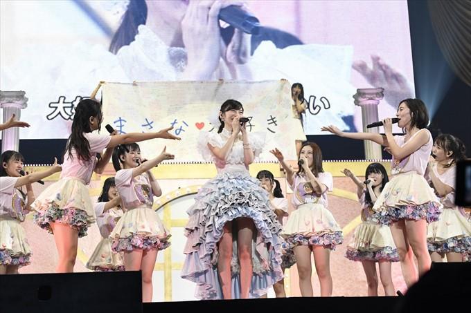 SKE48大矢真那、涙の卒業コンサ...