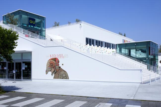 UT×米津玄師 UNIQLO PARK 横浜ベイサイド店 外壁
