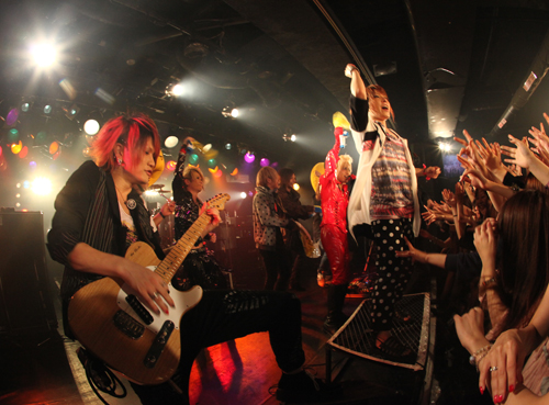 TRIBAL ARIVALL TOUR 2012