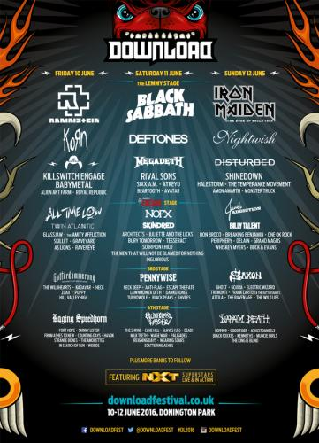 『DOWNLOAD FESTIVAL UK』 (okmusic UP's)